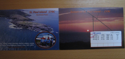 CY9C * St. Paul Island 2019 expedition * QSL